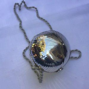 Rodo sphere silver purse